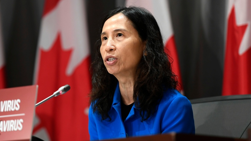 Chief Public Health Officer of Canada Dr. Theresa Tam participates in a news conference on the COVID-19 pandemic in Ottawa, on Tuesday, June 2, 2020. THE CANADIAN PRESS/Justin Tang