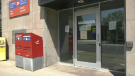 The Canada Post location on Waterloo St. S. in Stratford. (June 2, 2020)