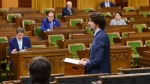 Prime Minister Justin Trudeau delivers a statement in the House of Commons on Parliament Hill during the COVID-19 pandemic committee in Ottawa on Tuesday, June 2, 2020. THE CANADIAN PRESS/Sean Kilpatrick