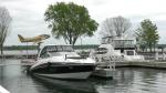Boats docked at the Tall Ships Landing Marina in Brockville, Ont. June 2, 2020. (Nathan Vandermeer / CTV News Ottawa)