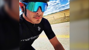Calgary cyclist Cory Meza died days after being struck by a vehicle while riding home from work. (GoFundMe)
