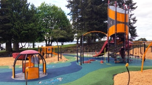 A Nanaimo playground is pictured: (City of Nanaimo / Facebook)