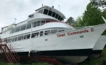 The Chief Commanda has been docked in Callander since 2019 due to the pandemic, but officials say it will be in Lake Nipissing soon. (File)