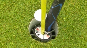 "The ""TAP IT' device created by Lyle Knittig to help make golf contact-free. Tuesday June 2, 2020 (CTV News Edmonton)"