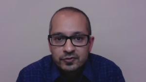 Infectious disease specialist Dr. Sumon Chakrabarti