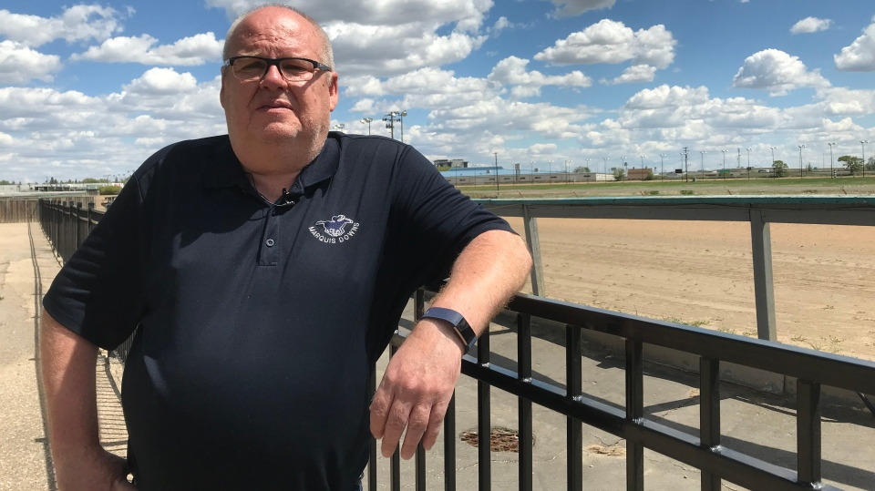 Marquis Downs manager of racing Rick Fior. (Pat McKay/CTV Saskatoon)