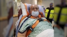 Senior seriously injured in wolf attack