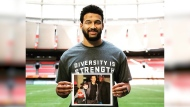BC Lions star speaks out about racism