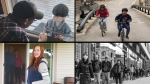 CTVNews.ca readers submitted photos showing how they're spending their time during the COVID-19 pandemic. (Compilation photo)