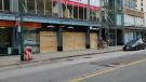 Plywood going back up in downtown Vancouver