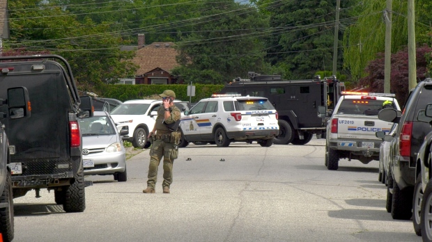Man taken into custody in Chilliwack police incident