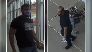 Ottawa Police are looking to identify two men, wanted in connection with an identity theft investigation. (Ottawa Police handout)