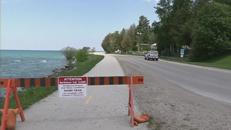 New plan for cyclists on Saugeen Shores waterfront