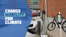 The Electric Vehicle Charging and E-Bike (ECEB) Rebate Program promotional photo. (Courtesy: City of Edmonton)