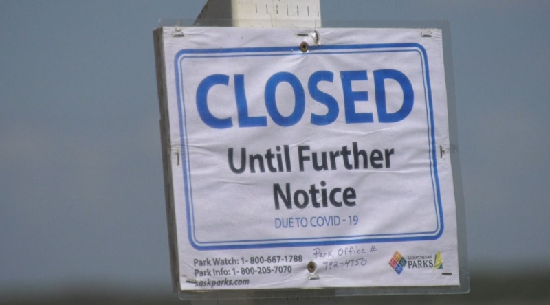Beaches still closed in Sask.