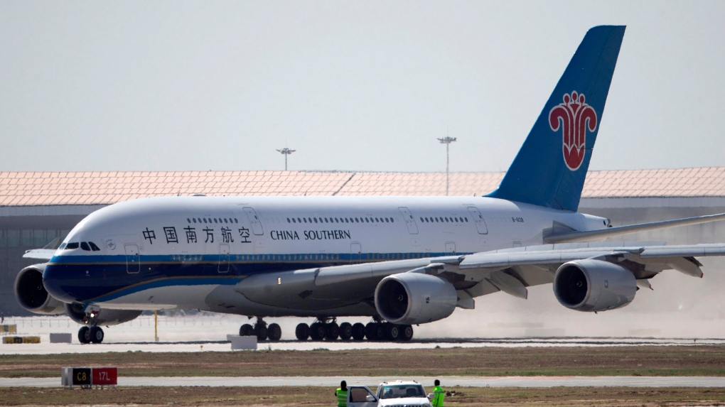 U.S. to halt Chinese airlines' access, stoking trade tension