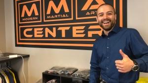 Modern Martial Arts Center in Saskatoon. (Pat McKay/CTV Saskatoon)