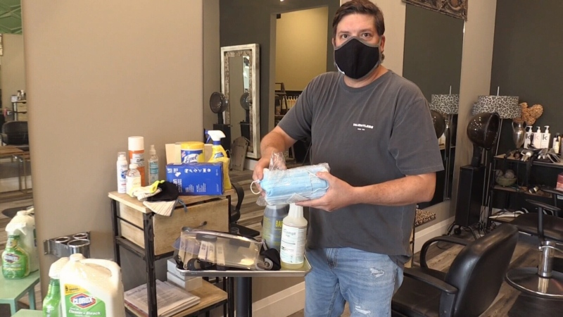 Luxe Appeal is rolling out new safety measures at its Waterloo salon.