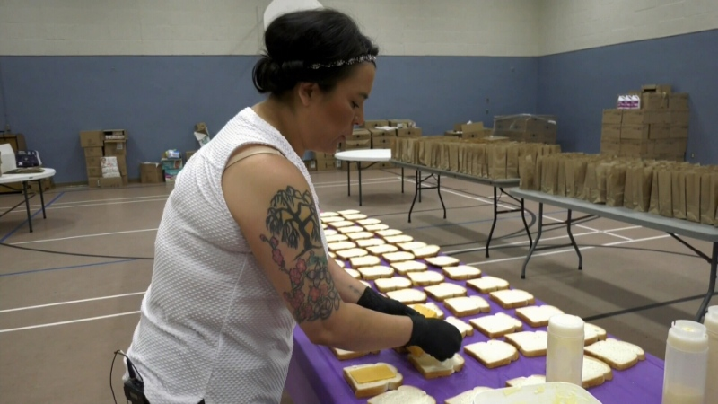 Feeding the hungry in Prince Albert