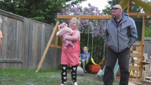 Family wants to make daughter smile