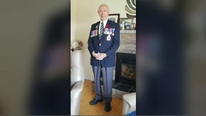 Edmund Martin of Crombie Settlement, N.B., was among those who landed on Juno Beach in Normandy in June 1944. That bravery is being honoured this weekend in Fredericton.