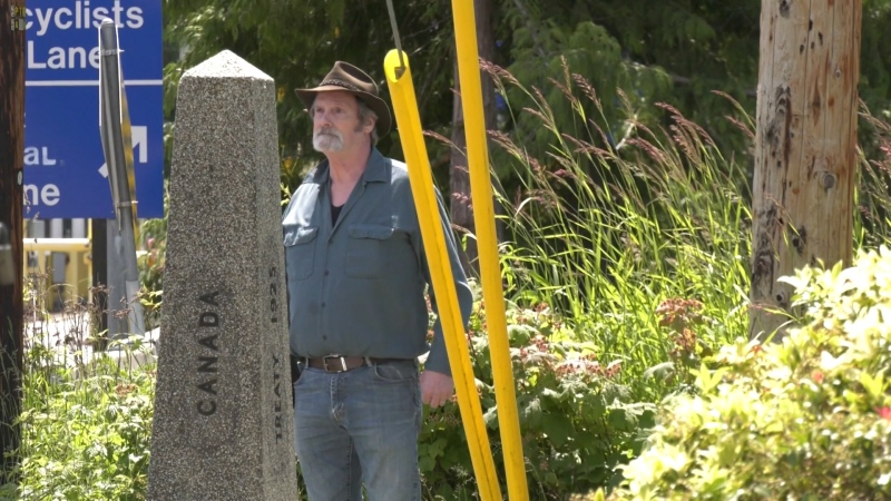 Longtime Point Roberts, Wash., resident John Beals has launched a petition, hoping the governments of Canada and the United States will make an exception, and allow residents of the tiny, isolated American town to cross the border.