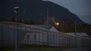 The Mission Correctional Institution in Mission, B.C. is pictured Tuesday, April 14, 2020. (THE CANADIAN PRESS/Jonathan Hayward)