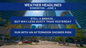 June 4 weather headlines