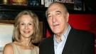 Christie Hefner, left, with Bruce Jay Friedman in New York, on Sept. 19, 2006. (AP / Playboy, Dave Allocca)