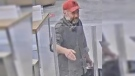 A suspect wanted after a bank was defrauded out of about $40,000 in a case of identity theft. (Source: Perth County OPP)
