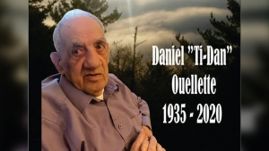 The family of Daniel Ouellette has confirmed to CTV News that he died from COVID-19 on June 4, 2020. (Michel Ouellette/Facebook)