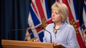 Provincial health officer Dr. Bonnie Henry gives an update on the spread of COVID-19 in B.C. on June 2, 2020. (Province of BC/Flickr)
