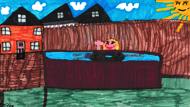Jaiden Barnhart, 7 years old, Grade 2, École St-Jean in Embrun