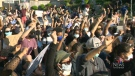 Personal stories from the Black Lives Matter march