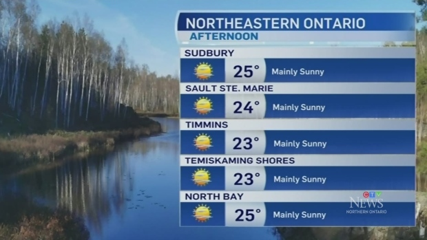 A beautiful Spring day in the north Thursday