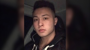 Undated image of Christian Ouellette, the Calgarian convicted of first-degree murder and second-degree murder in a fatal 2017 shooting in the parking lot of a SE Superstore (Facebook)