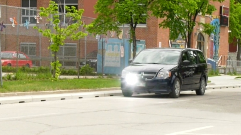 Councillor Shawn Nason tabled a motion at City Hall to have the vehicles parked in school, playground, and construction zones changed to a bright colour to alert drivers.