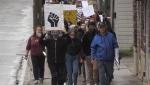 Timmins anti-racism rally and march June 3/20 (Sergio Arangio/CTV Northern Ontario)