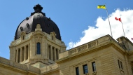 The dome of the Saskatchewan Legislative Building is seen in this file image. (Brendan Ellis/CTV News)
