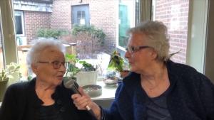Residents at St. Ann's Senior Citizens' Village created their own newscast.