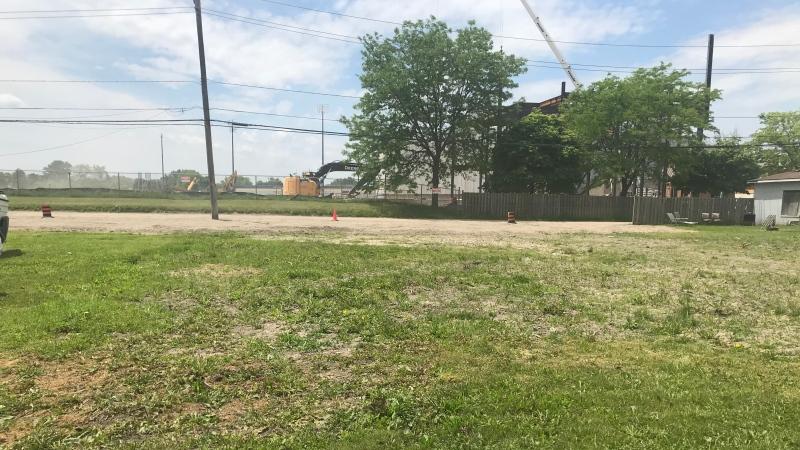 Multiplex development site on California Avenue in Windsor, Ont. on Thursday June 4, 2020 (Angelo Aversa/CTV Windsor)