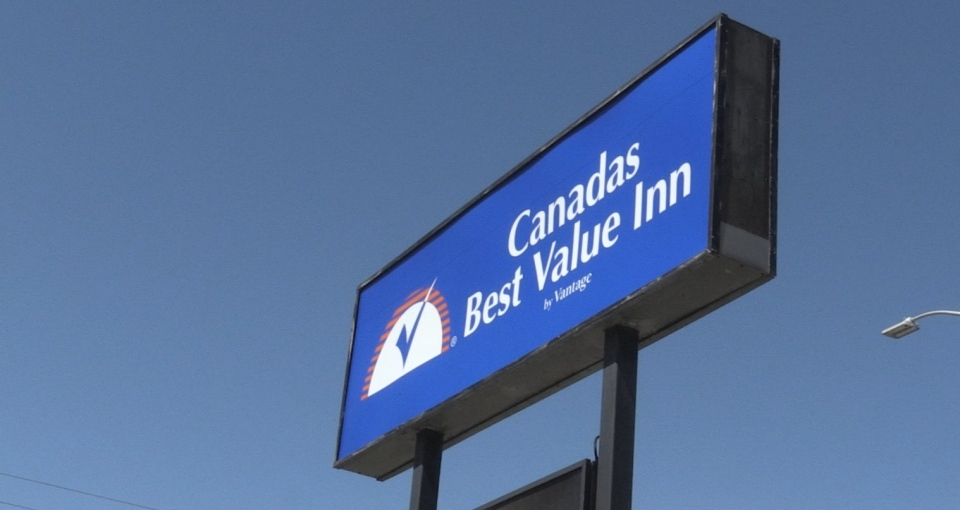 Greater Sudbury has rented Canada's Best Value Inn in the city to accommodate the city's vulnerable population who are at heightened risk of contracting COVID-19. (Molly Frommer/CTV News)