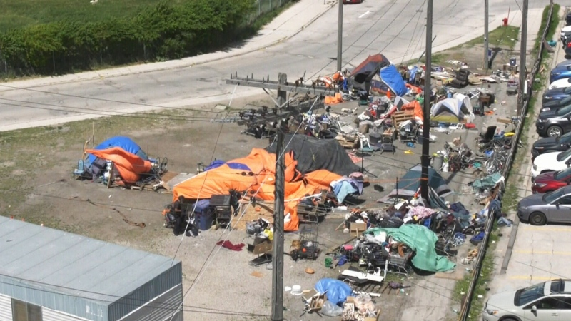 Homeless camp causing dispute in Winnipeg