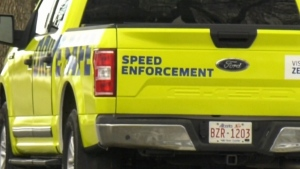 Turning photo radar bright neon