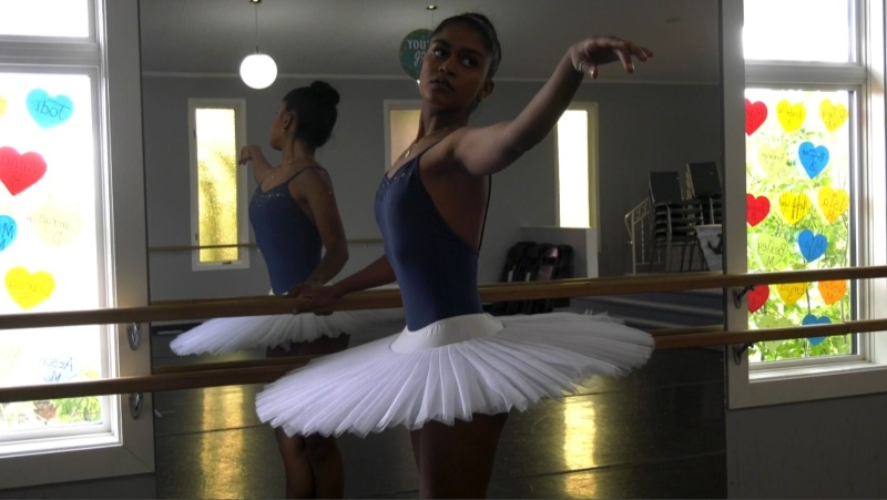 Yorkton dancer learning from American Ballet