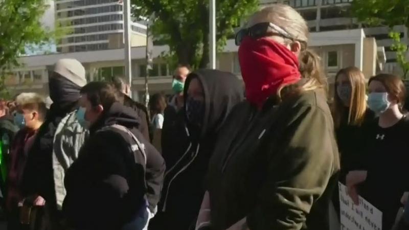 Anti-racism rally in Saskatoon