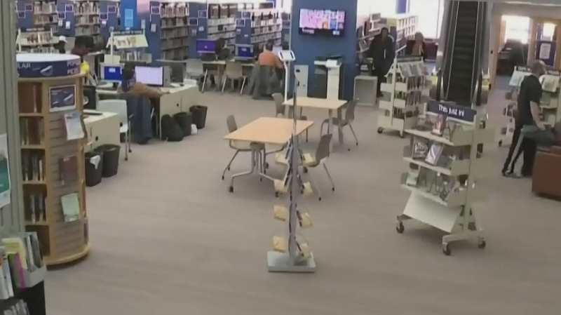 Library to resume drop off, pick up