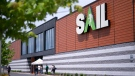 A Sail outdoor store is seen in Brossard, Que. on Tuesday, June 2, 2020. Sail Outdoors Inc. has filed for bankruptcy protection so it can restructure amid the COVID-19 pandemic. THE CANADIAN PRESS/Paul Chiasson