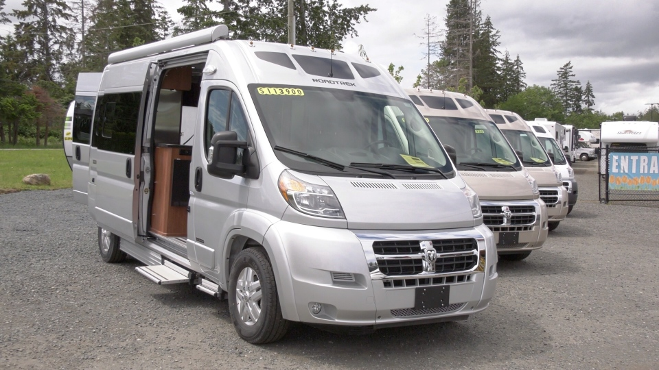 The pandemic may be creating problems for air travel, cross-border shopping and international cruises, but RV dealers on Vancouver Island are reporting a booming business. (CTV)