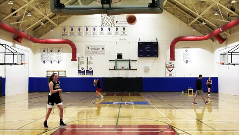 The Calgary Basketball Academy was allowed to reopen June 1, which has a few Calgary basketball players happy.